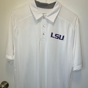 Nike LSU Dri-Fit Short-Sleeved Shirt